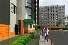 Рядом с Итальянский квартал расположен Малоэтажный жилой комплекс O'range /Оранж/