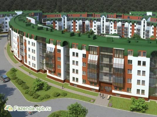Малоэтажный жилой комплекс Земляничная поляна, Всеволожский район.