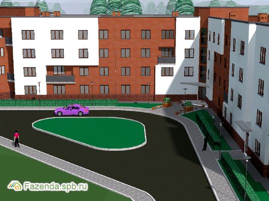 Малоэтажный жилой комплекс Шоколад, Ломоносовский район.