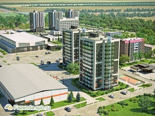 Жилой комплекс Новоселье. Городские кварталы, Ломоносовский район.