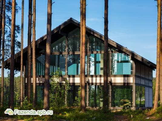 Коттеджный поселок  Liikola Club, Выборгский район. Актуальное фото.