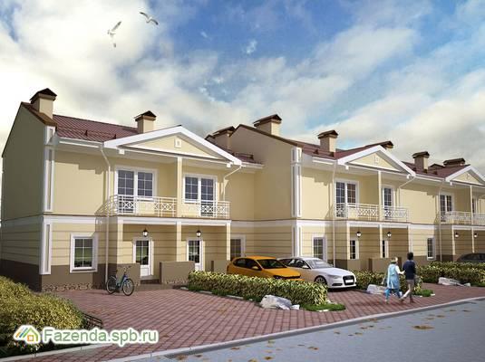 Малоэтажный жилой комплекс Ломоносовская усадьба, Ломоносовский район.
