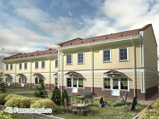 Малоэтажный жилой комплекс Ломоносовская усадьба, Ломоносовский район. Актуальное фото.