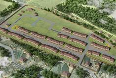 Рядом с Земляничные поляны расположен Малоэтажный жилой комплекс Ломоносовская усадьба