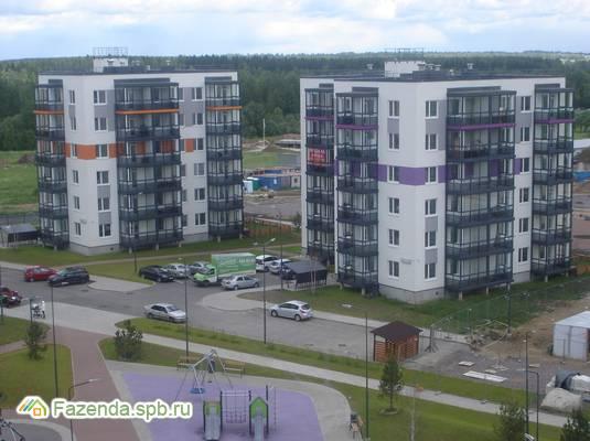 Жилой комплекс Gröna Lund, Всеволожский район. Актуальное фото.