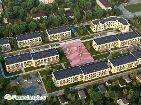 Малоэтажный жилой комплекс Дубровка на Неве, Всеволожский район.