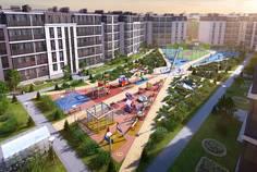 Рядом с Пушгород расположен Малоэтажный жилой комплекс СолнцеPARK