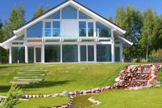 Рядом с Охтинская Долина расположен Коттеджный поселок  Lake villa