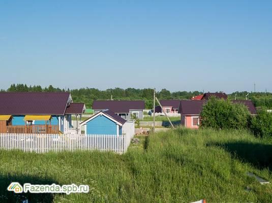 Коттеджный поселок  5 холмов, Всеволожский район. Актуальное фото.