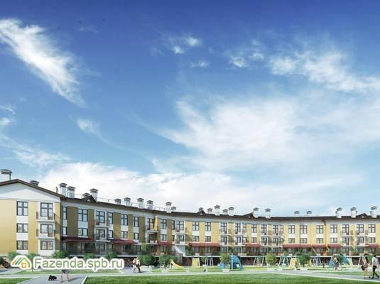Малоэтажный жилой комплекс Шотландия, Всеволожский район. Актуальное фото.