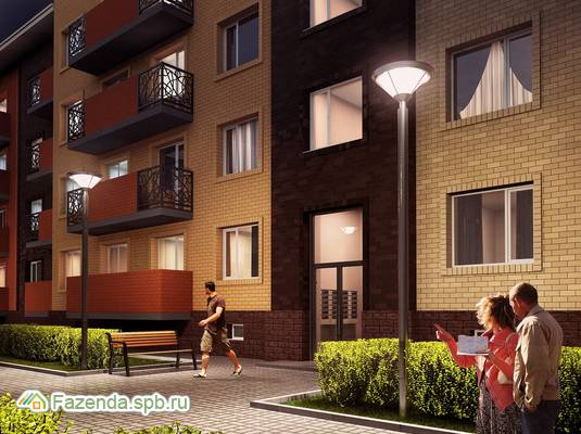 Малоэтажный жилой комплекс Итальянский квартал, Всеволожский район. Актуальное фото.