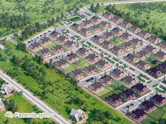 Коттеджный поселок  Юкковское парк, Всеволожский район. Актуальное фото.
