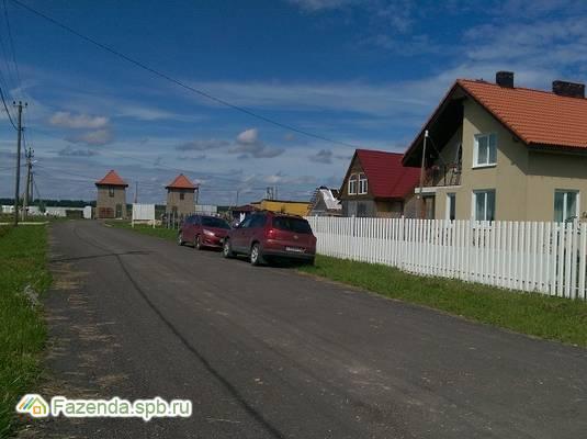 Коттеджный поселок  Имение Оржицкого, Ломоносовский район. Актуальное фото.