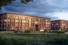 Рядом с ЭкспоГрад расположен Малоэтажный жилой комплекс Неоклассика 2