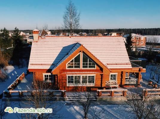 Коттеджный поселок  Лазурные озёра, Всеволожский район.