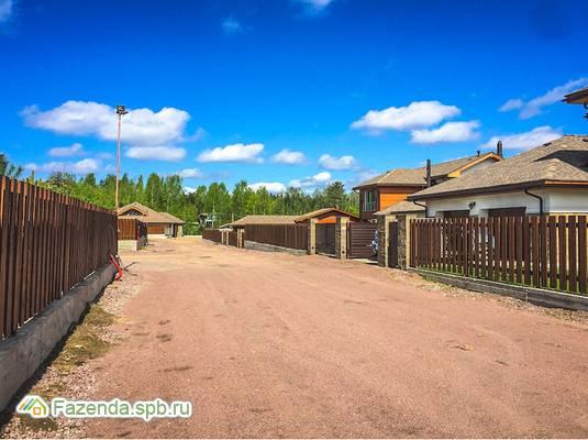 Коттеджный поселок  Белые озёра, Выборгский район.
