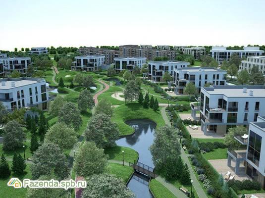 Малоэтажный жилой комплекс Gatchina Gardens, Гатчинский район.