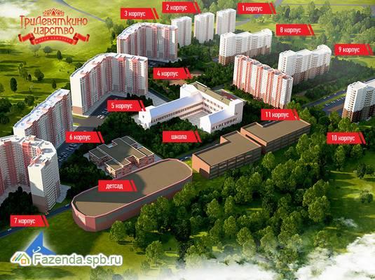 Жилой комплекс Тридевяткино Царство, Всеволожский район.