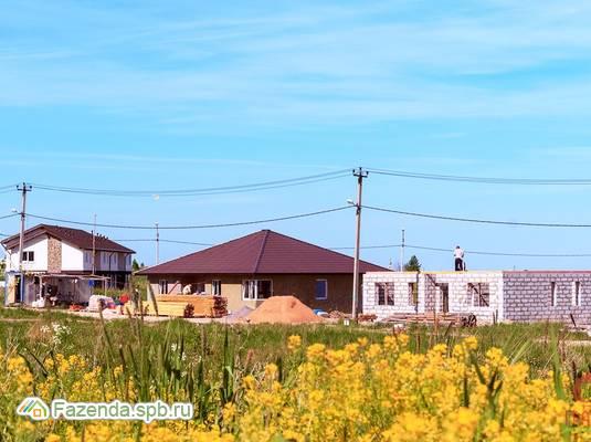 Коттеджный поселок  Дворцовые Предместья, Ломоносовский район.