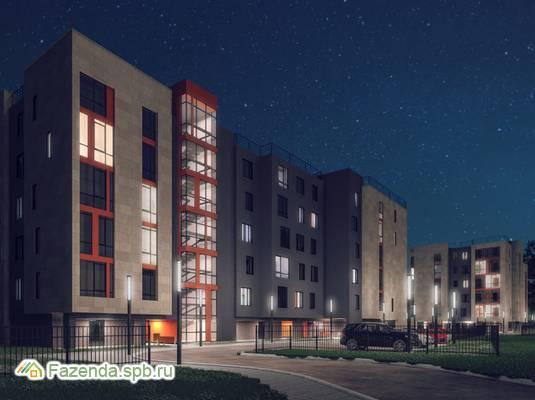 Малоэтажный жилой комплекс Дом на Коралловской, Всеволожский район.