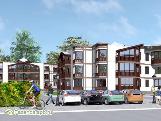 Малоэтажный жилой комплекс Red Village, Красносельский СПб.