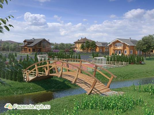 Коттеджный поселок  Павловская слобода, Гатчинский район.