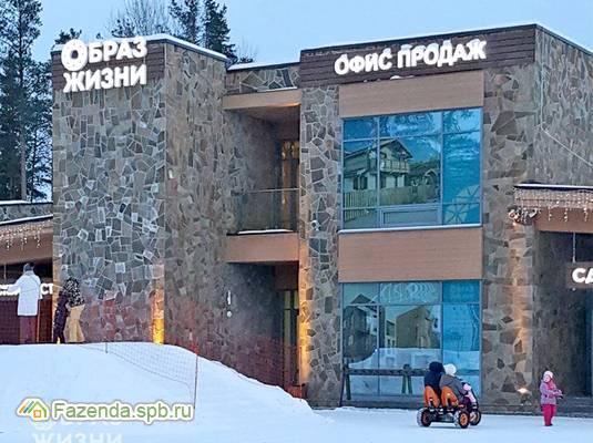 Малоэтажный жилой комплекс Образ жизни, Всеволожский район. Актуальное фото.