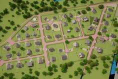 Рядом с Ладога-Village расположен Коттеджный поселок  Ladoga Land