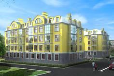 Рядом с МОНБИЖУ расположен Малоэтажный жилой комплекс Pushkin House