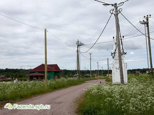 Коттеджный поселок  Золотая сотка, Выборгский район.