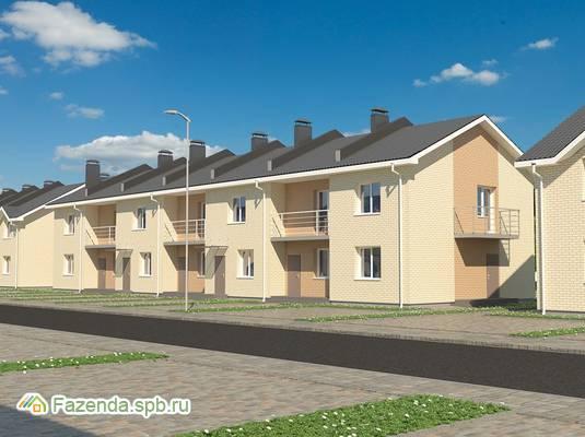 Малоэтажный жилой комплекс Фёдоровское, Тосненский район.