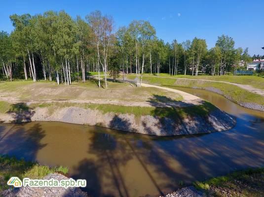 Коттеджный поселок  Репинские озера, Выборгский район.