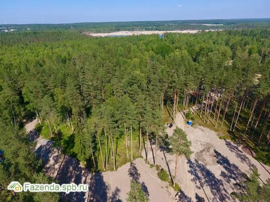 Коттеджный поселок  Репинские озера, Выборгский район. Актуальное фото.