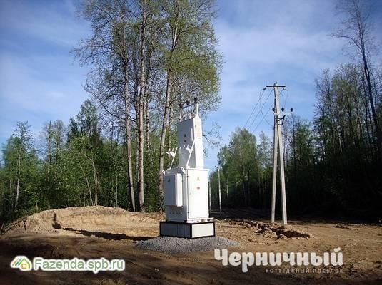 Коттеджный поселок  Черничный, Всеволожский район. Актуальное фото.