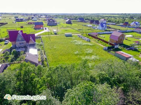 Коттеджный поселок  Рыбицы-1, Гатчинский район. Актуальное фото.