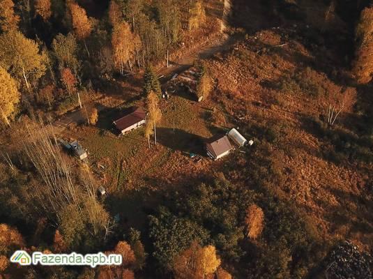 Коттеджный поселок  Ромашкинские усадьбы, Приозерский район. Актуальное фото.