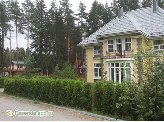 Коттеджный поселок  Рощинская сказка, Выборгский район. Актуальное фото.