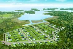 Рядом с Новый Кексгольм расположен Коттеджный поселок  Вуокса Яркий берег