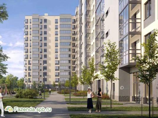 Жилой комплекс iD Кудрово, Всеволожский район. Актуальное фото.