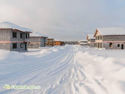 Коттеджный поселок  Атлантик, Всеволожский район. Актуальное фото.