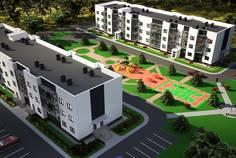 Рядом с Рыбицы расположен Малоэтажный жилой комплекс На Героев