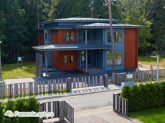 Коттеджный поселок  HONKANOVA, Курортный район СПб. Актуальное фото.
