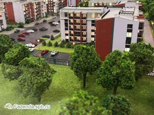 Малоэтажный жилой комплекс UP-квартал «Пушкинский», Пушкинский район. Актуальное фото.