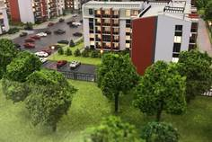 Рядом с INKERI расположен Малоэтажный жилой комплекс UP-квартал «Пушкинский»