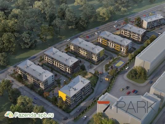 Малоэтажный жилой комплекс 7 Парк, Пушкинский район. Актуальное фото.