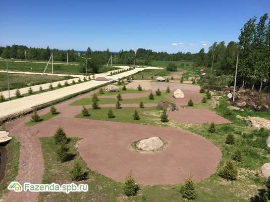 Коттеджный поселок  Морские сезоны, Ломоносовский район. Актуальное фото.