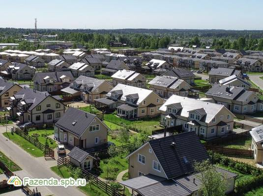 Коттеджный поселок  Вартемяги Парк, Всеволожский район. Актуальное фото.