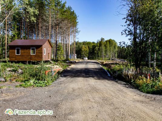 Коттеджный поселок  Клеверная бухта, Выборгский район. Актуальное фото.