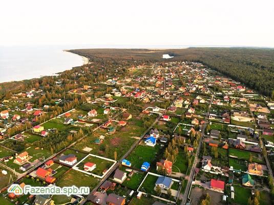 Коттеджный поселок  Ладожский Маяк, Всеволожский район. Актуальное фото.