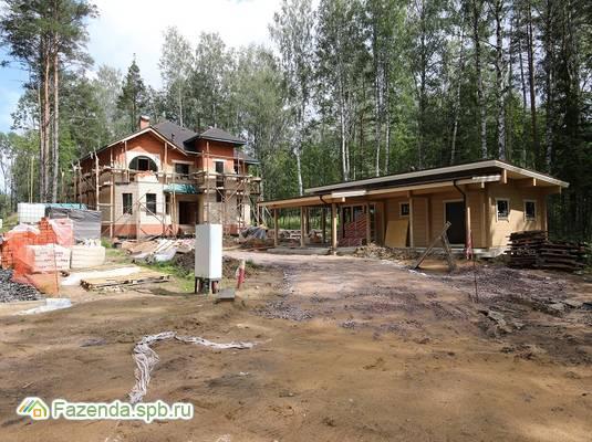 Коттеджный поселок  Резиденция у озера, Всеволожский район. Актуальное фото.